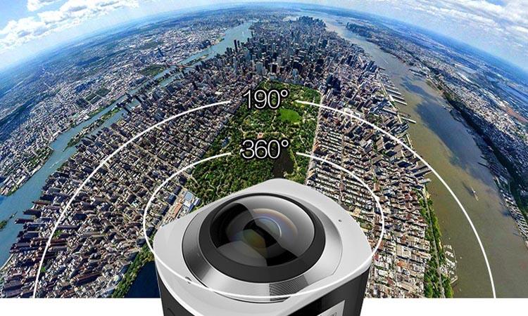 Панорамные камеры видеонаблюдения и их особенности