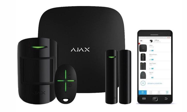 Настройка системы беспроводной сигнализации AJAX StarterKit