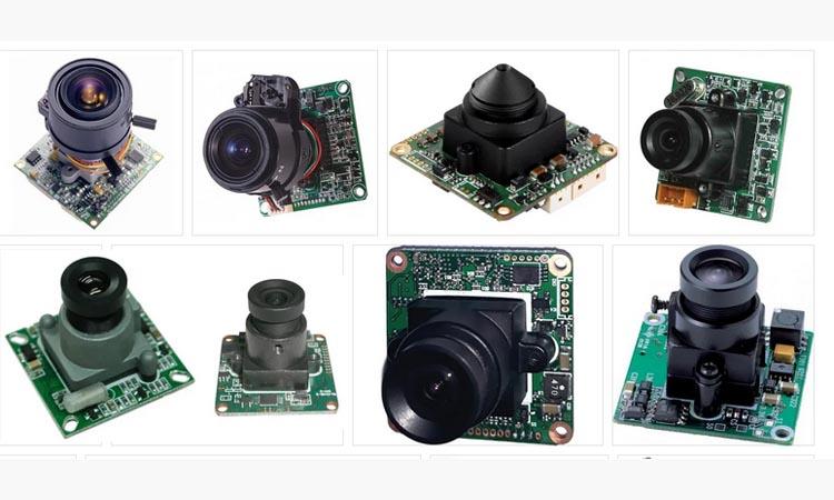 Модульные камеры систем видеонаблюдения