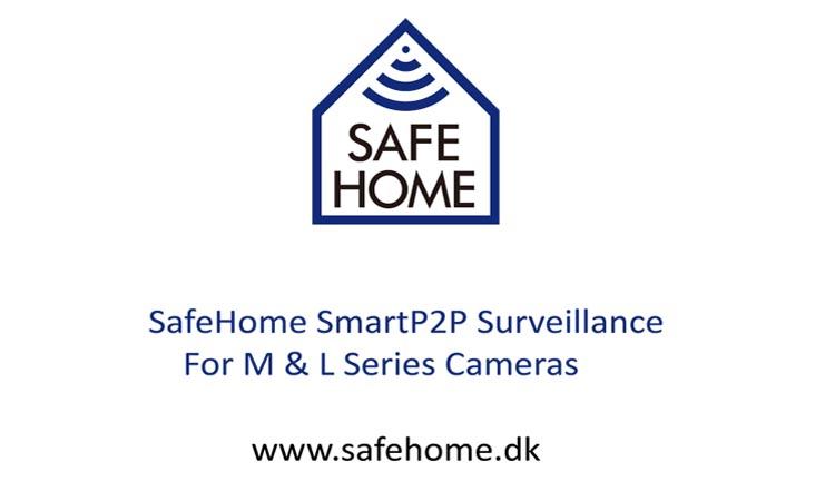 SafeHomeSmartP2P - приложение для видеонаблюдения. Видеомануал. Скачать