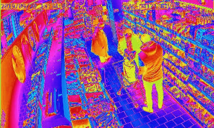 Тепловизионные камеры видеонаблюдения - лучший способ защиты от краж в магазинах