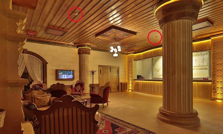 Монтаж систем видеонаблюдения в гостиницах Москвы и Подмосковья