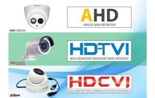 Виды современных аналоговых систем видеонаблюдения