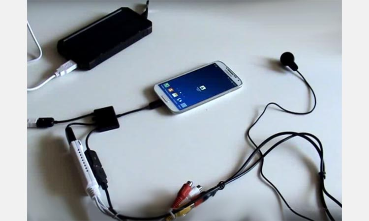 Можно ли подключить аналоговую камеру к мобильному устройству?