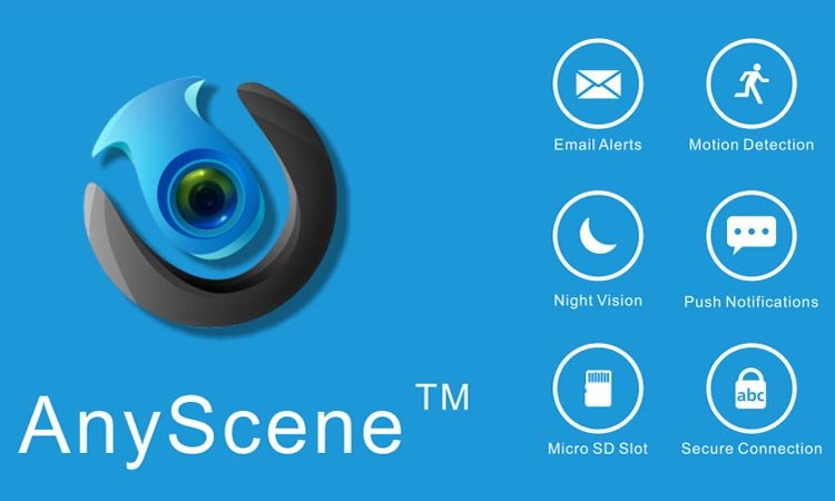AnyScene - приложение для видеонаблюдения. Инструкция. Скачать