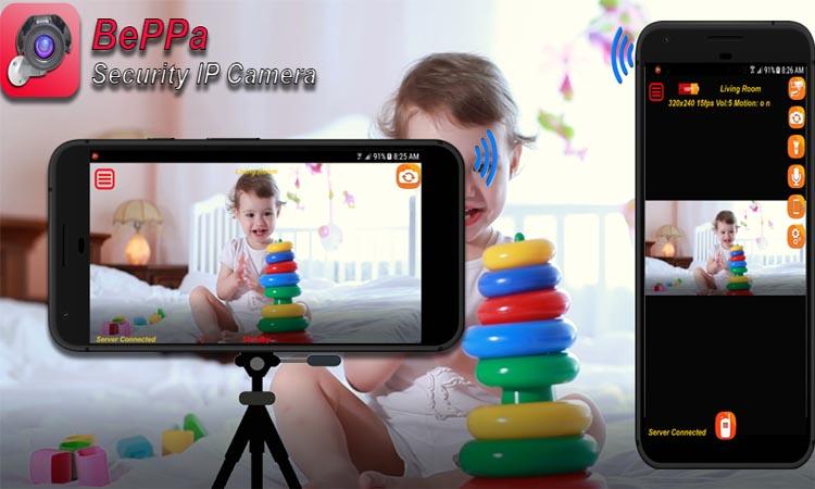 BePPa Home Security Camera - приложение для видеонаблюдения. Видеомануал. Скачать