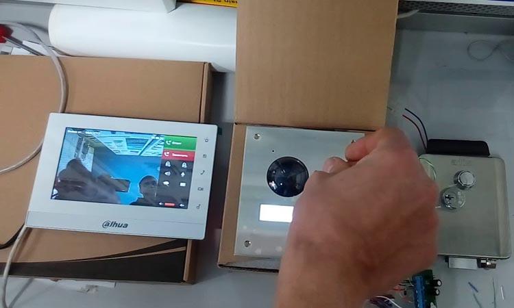 Настройка IP видеодомофона с подключением по Wi-Fi