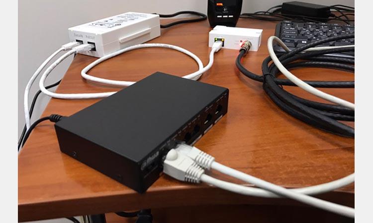 Передача данных цифровой системы видеонаблюдения по коаксиальному кабелю