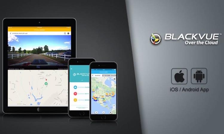 BlackVue - приложение для видеонаблюдения. Руководство. Скачать