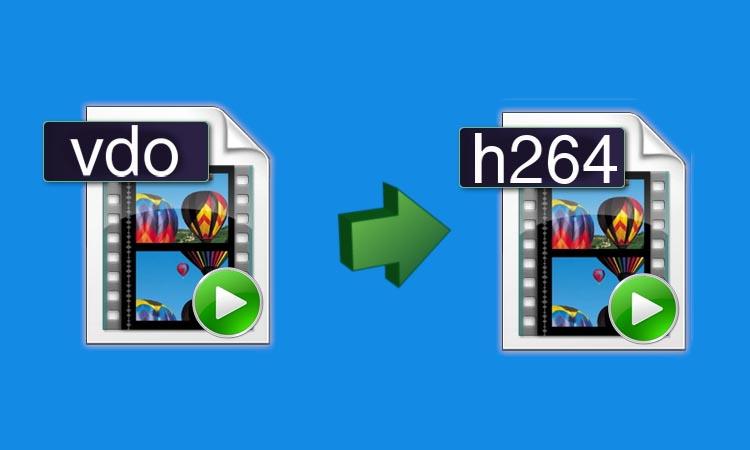 Как воспроизвести файлы записей с камер видеонаблюдения формата .vdo?