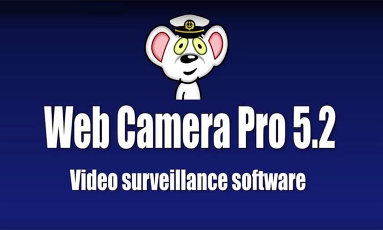 Web Camera Pro программа для видеонаблюдения. Видеомануал. Скачать