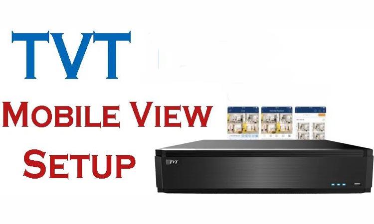 TVT MOBILE SETUP - приложение для видеонаблюдения. Видеомануал. Скачать