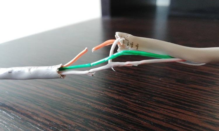 Причины повреждения кабелей в системах видеонаблюдения