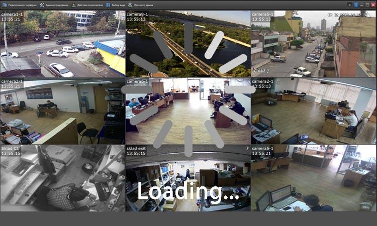 Что делать, если видео на мониторе системы наблюдения зависает?