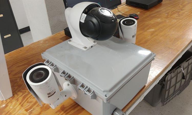 Использование WASP Box при монтаже временных систем видеонаблюдения