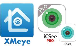Коды ошибок приложений для видеонаблюдения XMEye и iCSee (PRO)