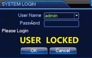 Как решить проблему с блокировкой пользователя видеорегистратора?