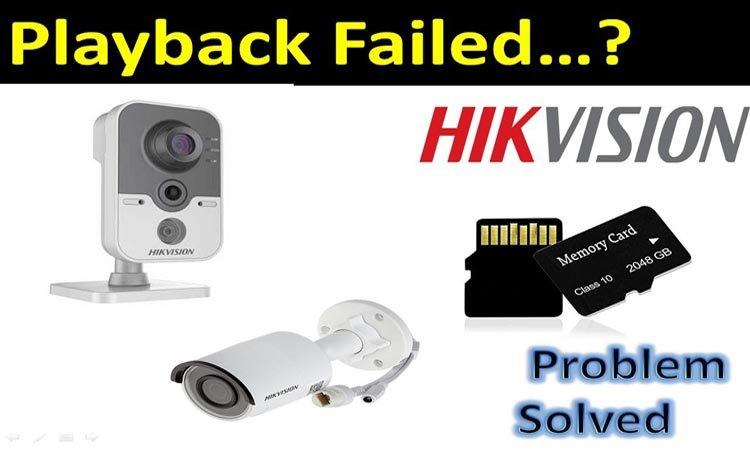"""Как исправить ошибка воспроизведения Hikvision """"Нет файлов записи"""""""