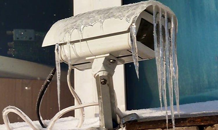 Как обеспечить качественную работу камер видеонаблюдения зимой?