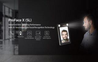 Использование технологии трехмерного структурированного света ProFace X в видеоаналитике
