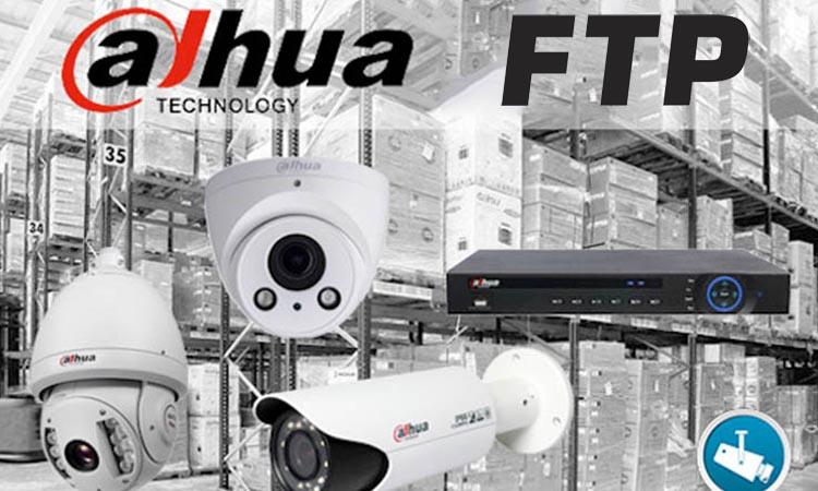 Как настроить FTP на Dahua NVR или DVR?