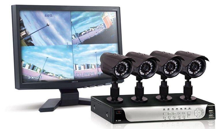 Комплекты видеонаблюдения недорого