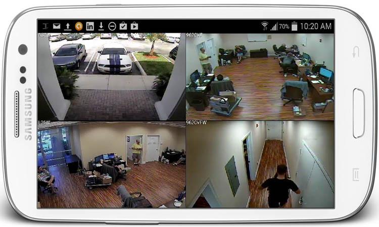 Настройка видеонаблюдения через мобильные устройства