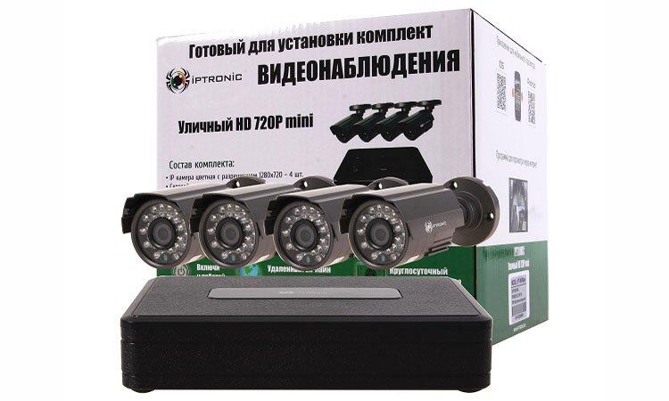 Камера видеонаблюдения с микрофоном и без