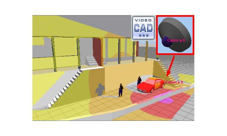 VideoCAD - многофункциональная САПР для проектирования систем видеонаблюдения, скачать программу, мануал, видеоуроки