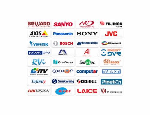 Основные производители камер и систем видеонаблюдения