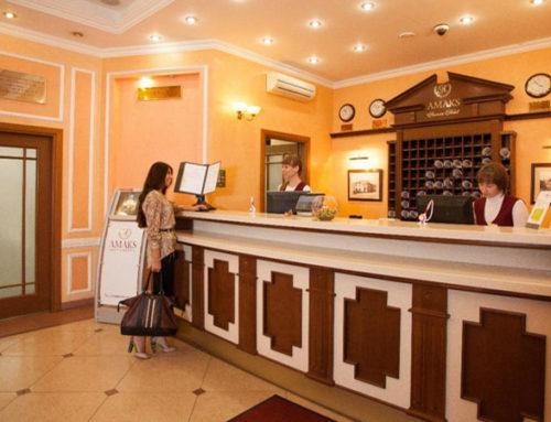 Установка систем видеонаблюдения в гостиницах и отелях Москвы и Подмосковья