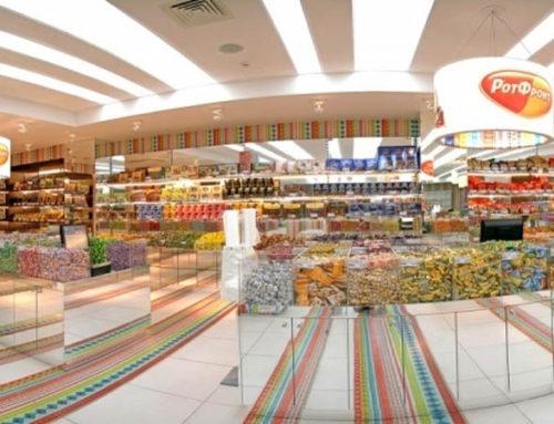 Установка видеонаблюдения в фирменных магазинах Москвы и Подмосковья
