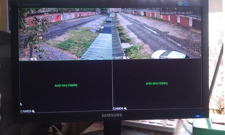 Установка видеонаблюдения в гаражном комплексе или кооперативе в Москве и Подмосковье