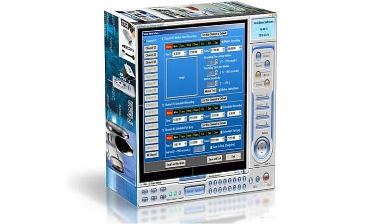 H264 WebCam Deluxe.4.0 - программа для видеонаблюдения. Инструкция. Скачать