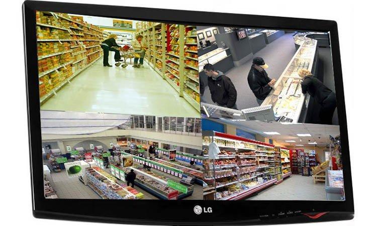 Установка видеонаблюдения в продовольственных магазинах Москвы и Подмосковья