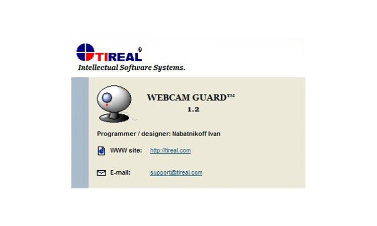 Tireal Webcam Guard - программа для видеонаблюдения. Инструкция. Скачать
