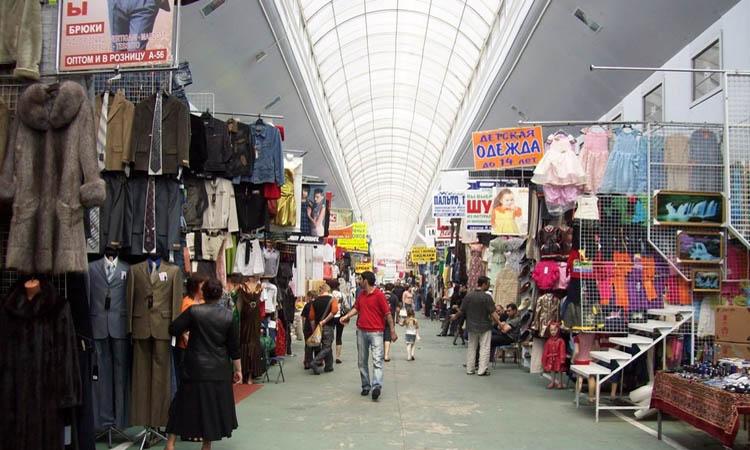 Монтаж систем видеонаблюдения на вещевых рынках Москвы и Подмосковья