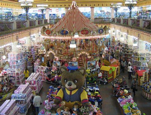 Установка систем видеонаблюдения в магазинах детских товаров в Москве и Подмосковье