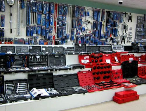 Монтаж систем видеонаблюдения в магазинах инструментов в Москве и Подмосковье