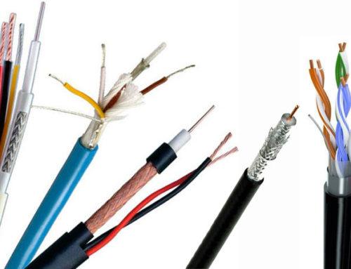 Типы кабелей для систем видеонаблюдения