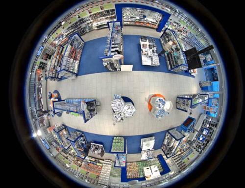 Панорамные камеры для видеонаблюдения