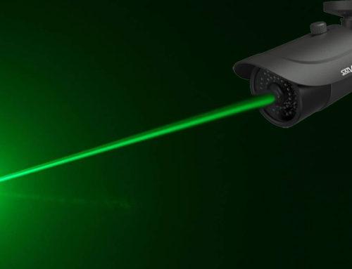 Как защитить камеры видеонаблюдения от засветки лазерной указкой