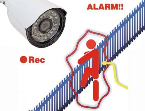 Датчики движения в системах видеонаблюдения