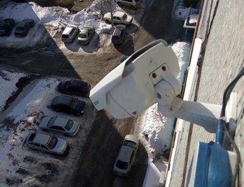 Видеонаблюдение за автомобилем на дворовой парковке в Москве и Подмосковье