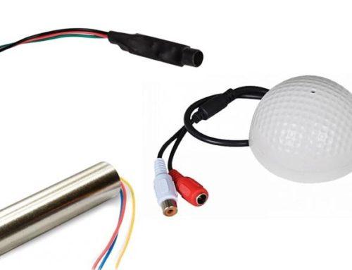 Типы микрофонов для систем видеонаблюдения