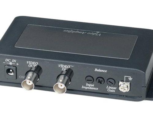 Усилители сигнала для систем видеонаблюдения