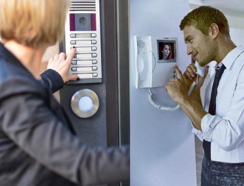 Как подключить видеодомофон квартиры к подъездному видеодомофону?