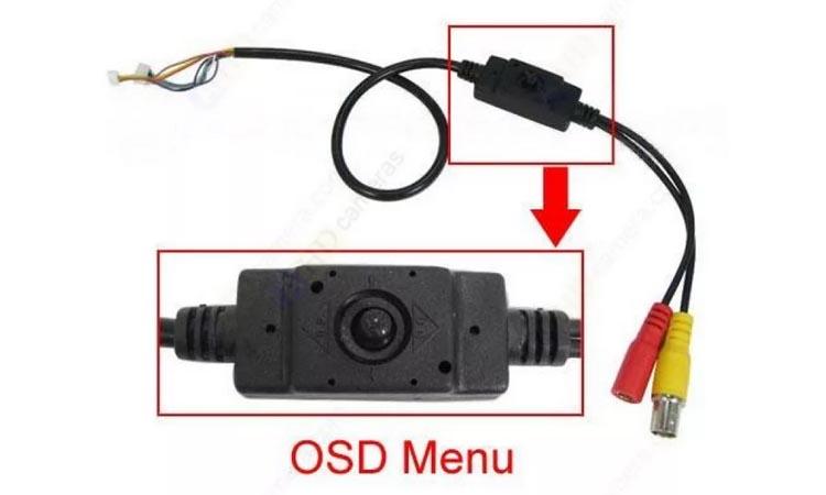 Настойка OSD-меню аналоговых камер систем видеонаблюдения