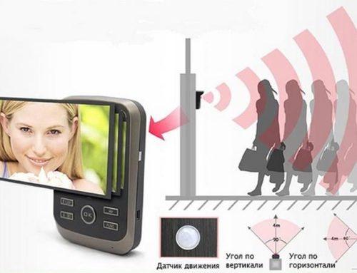 Для чего нужны датчики движения в видеодомофонах?