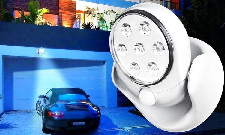 Применение светодиодных светильников с датчиком движения в системах безопасности